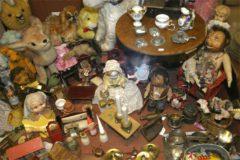 Erilaisia leluja… mm. Steiff