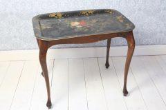 Antiikkinen tarjotinpöytä