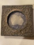 Antiikkinen hopea kehys
